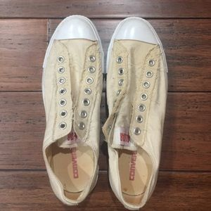 Converse Slip on Sneakers No laces